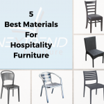 5 Best Materials for Hospitality Furniture