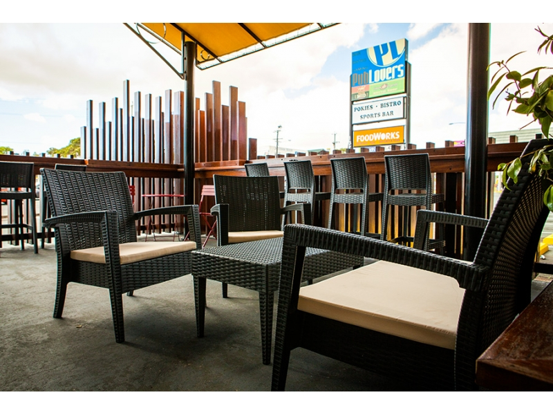 Aspley Pub Lovers Tavern outdoor chairs