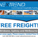 Nextrend Offers Free Freight On Your Commercial Furniture