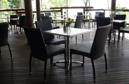 Restaurant Chairs, Palm Wicker Chairs 001