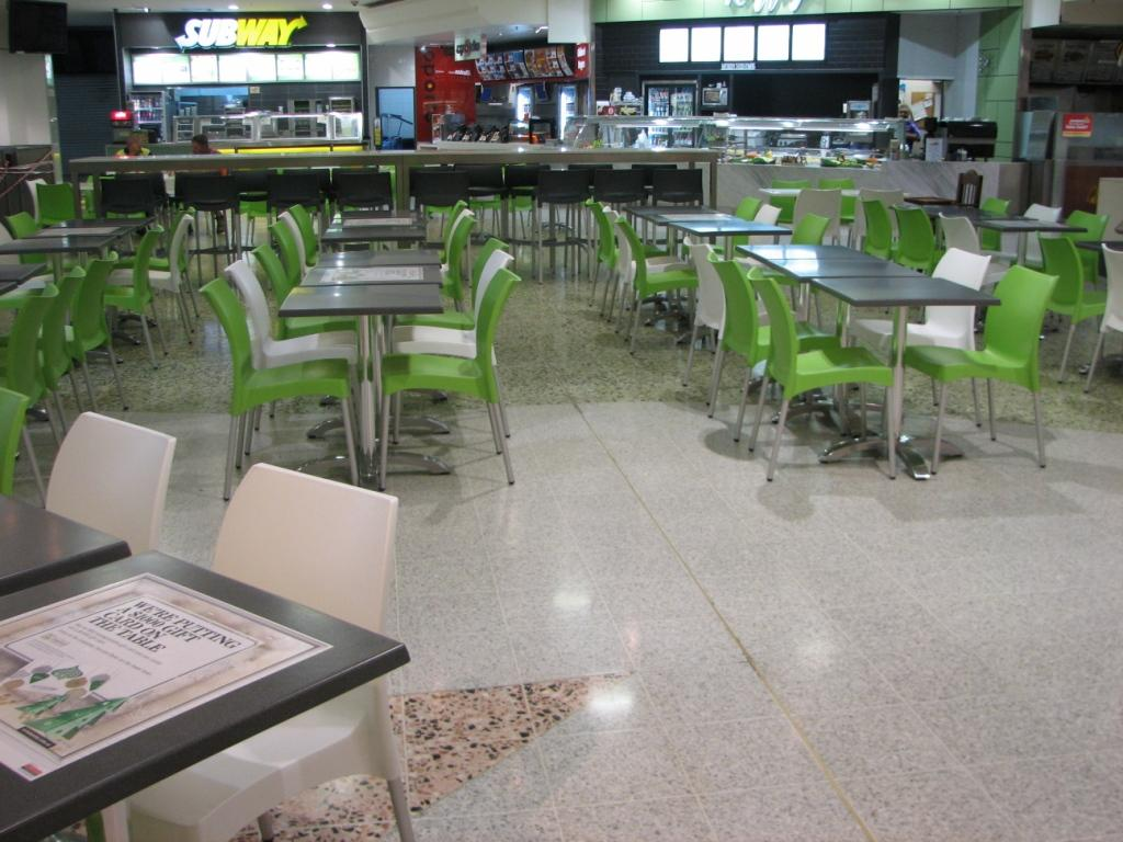 Shopping Centre Food Court Furniture Supply Nextrend
