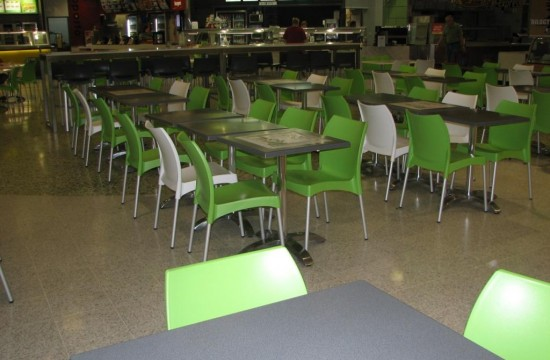 Tuggeranong Hyperdome food court vita chair