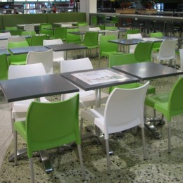 Food Court Tables & Chairs - Tuggeranong Shopping Centre ACT