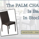 The Popular Palm Chair is Back in Stock at Nextrend Furniture