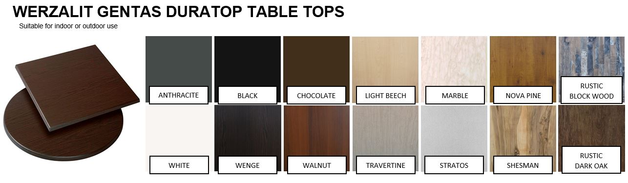 Duratop Table Tops