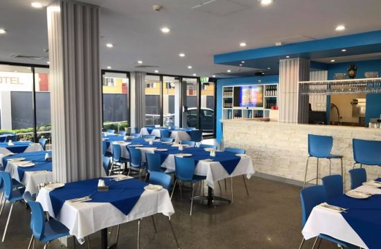 Cafe Furniture Lets Do Greek Restaurant Mackay QLD