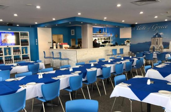 Cafe Furniture Mackay QLD - Lets Do Greek Restaurant