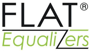 Flat Equalizers - Table Base Feet Logo