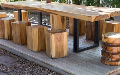 4 Smart Ideas for Building your own Cafe Tables