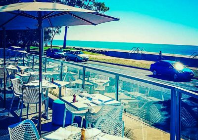 Vineyard Restaurant Bar in Hervey Bay - Air Chairs and Ocean View