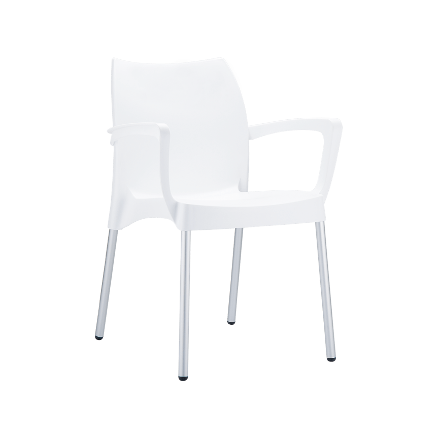 Dolce Armchair - White