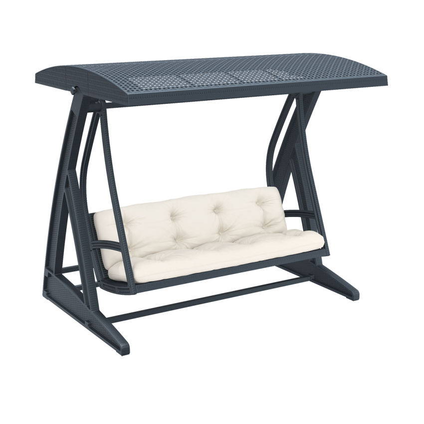 Hawaii Swing - Anthracite with cushion