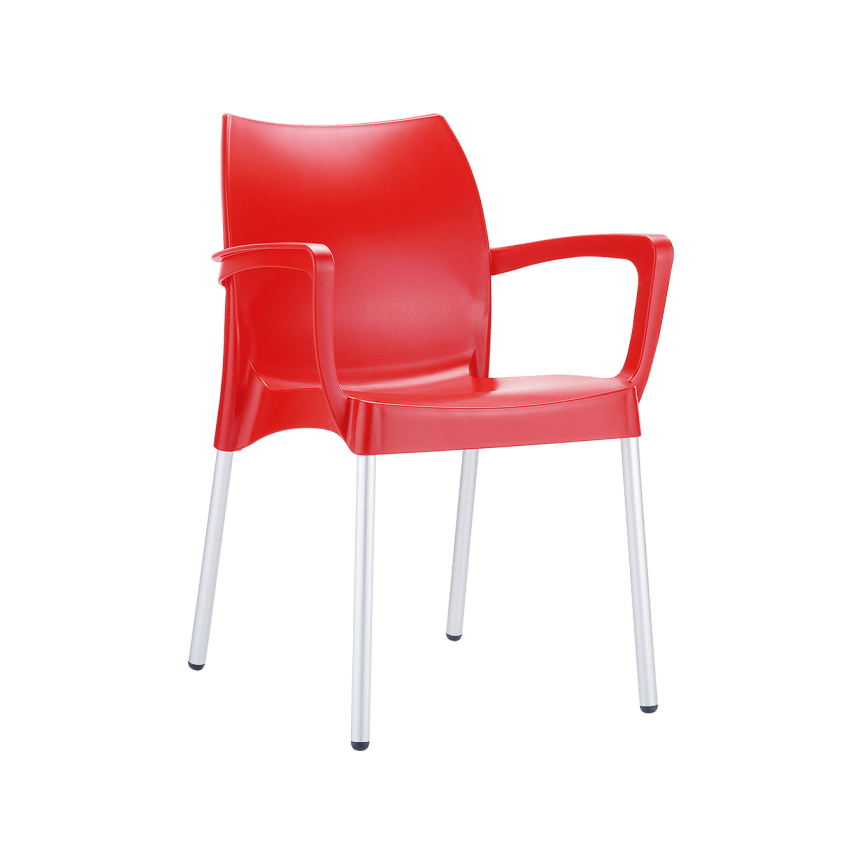 Dolce Armchair - Red