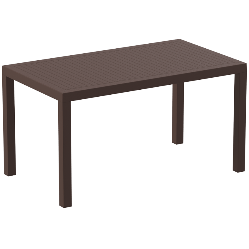 Ares 140 Table - Chocolate