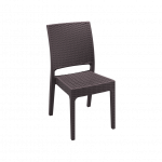Florida Chair in Chocolate - Front Side View image 21