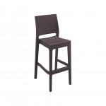 Jamaica Barstool in Chocolate - Front Side View image 18