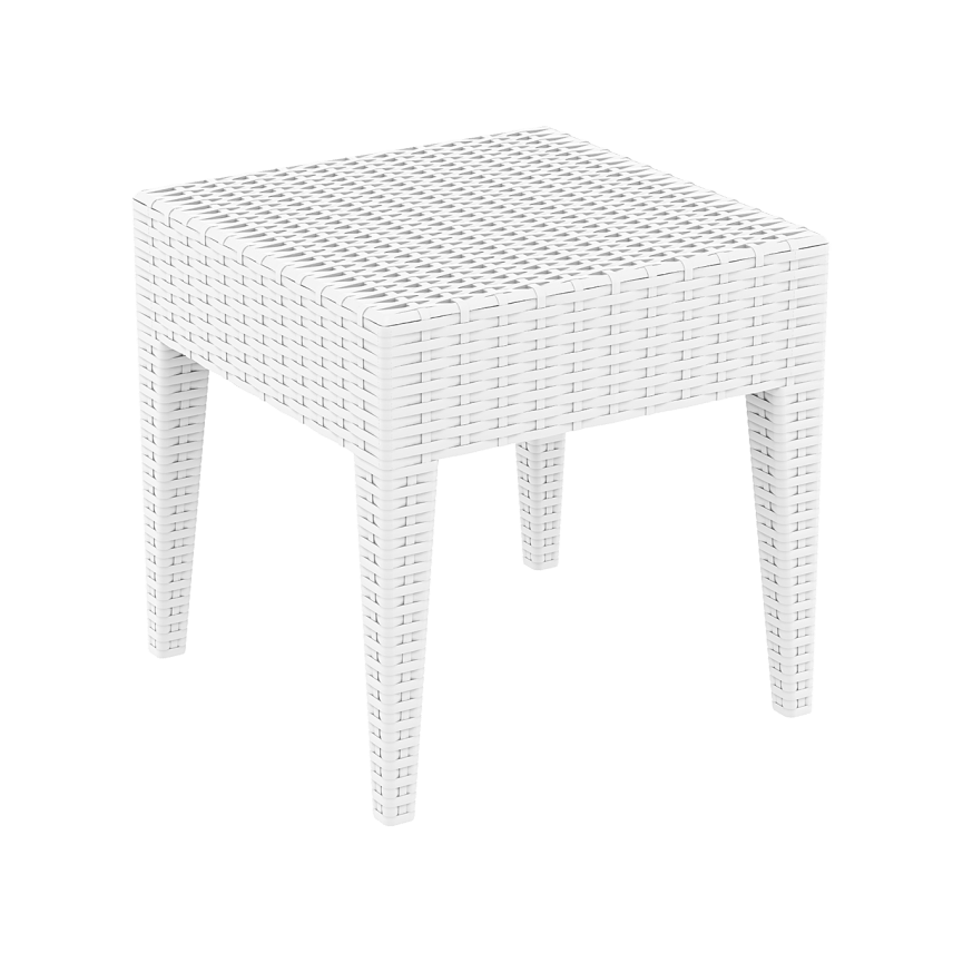 Tequila Side Table - White