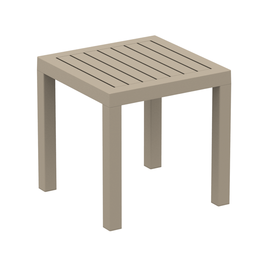 Ocean Side Table - Taupe