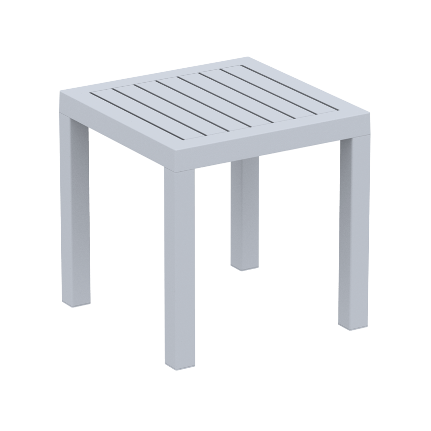 Ocean Side Table - Silver Grey