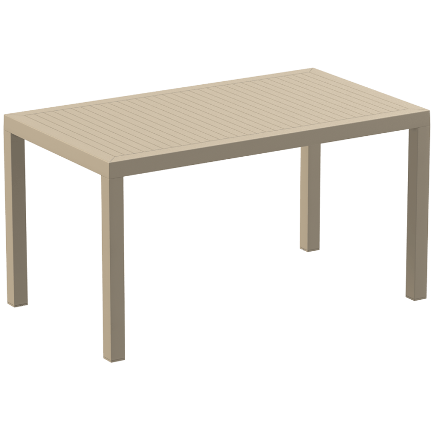 Ares 140 Table - Taupe