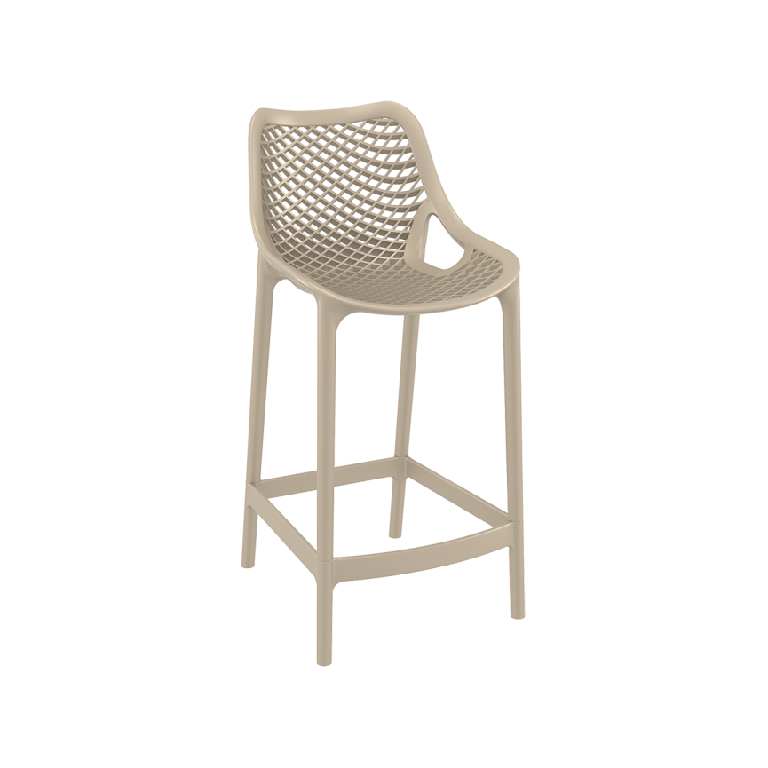 Air Barstool 65 - Taupe