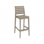 Ares 75 Barstool in Taupe - Image 91