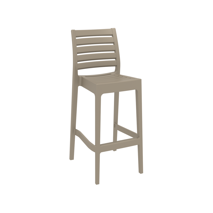 Ares Barstool 75 - Taupe