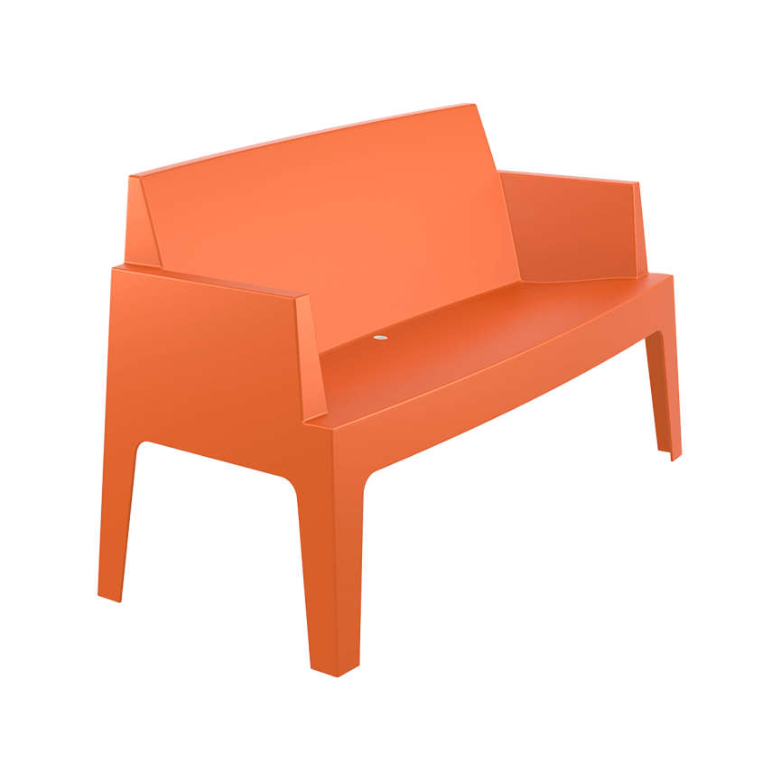 Box Sofa - Orange