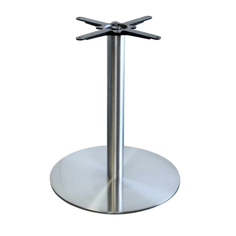Alexi S/S Table Base 600mm Diameter