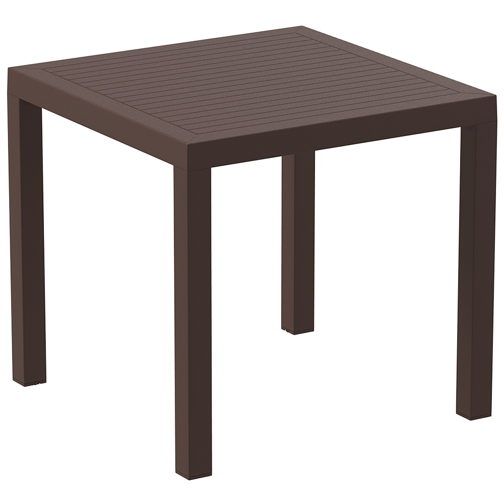 Ares 80 Table - Chocolate