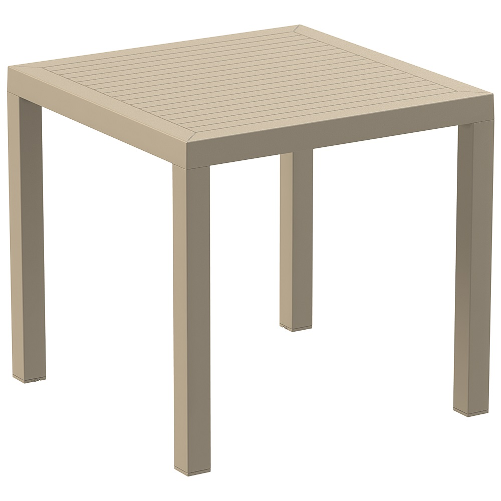 Ares 80 Table - Taupe