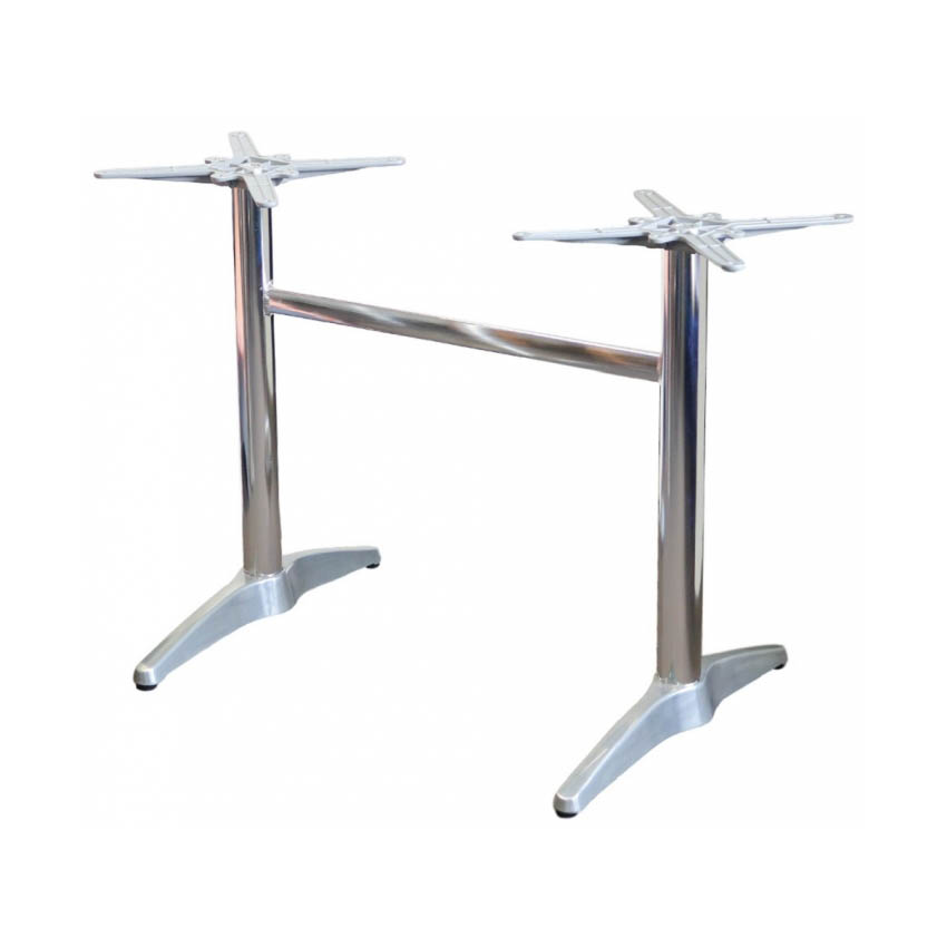 Astoria Aluminium Twin Table Base with EW Frame