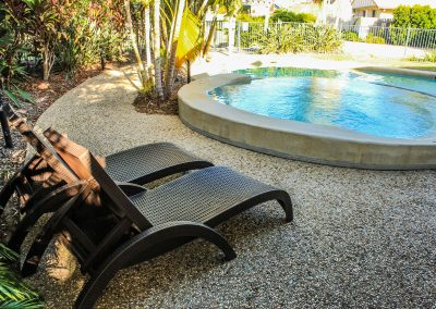 Beaches on Lammermoor – Ibiza Armchair in Chocolate & Fiji Sunloungers – Image 4