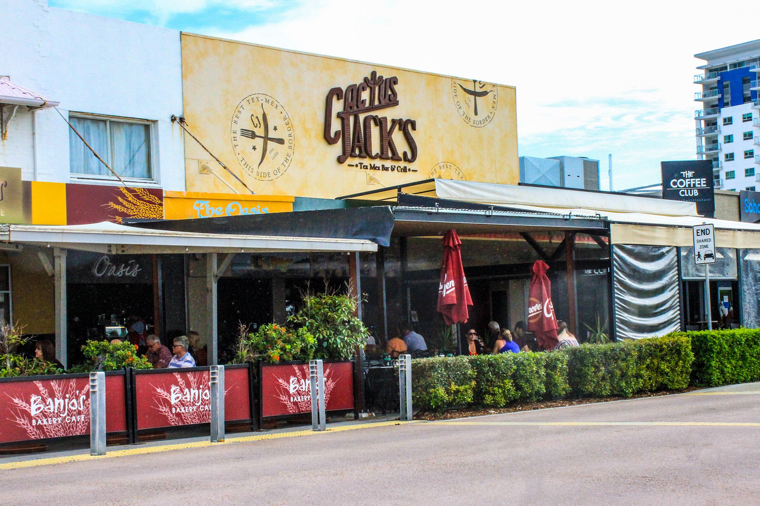 Name : Cactus Jack's – Redcliffe
