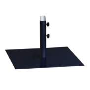 Cafe Umbrella Base - Steel Flat Plate