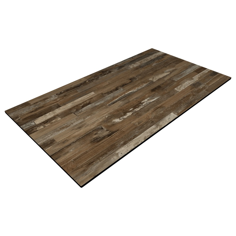 MC Rustic Block Wood - 1200 x 770mm Rect. - 12mm