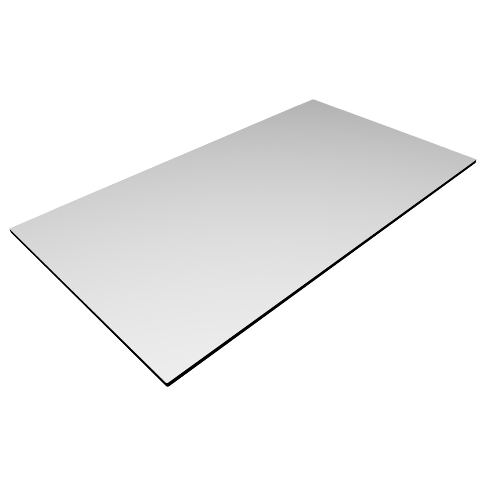 CL White - 1400 x 800mm Rect. - 12mm