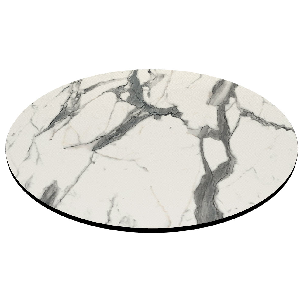 Compact Laminate Afyon Marble Table Tops