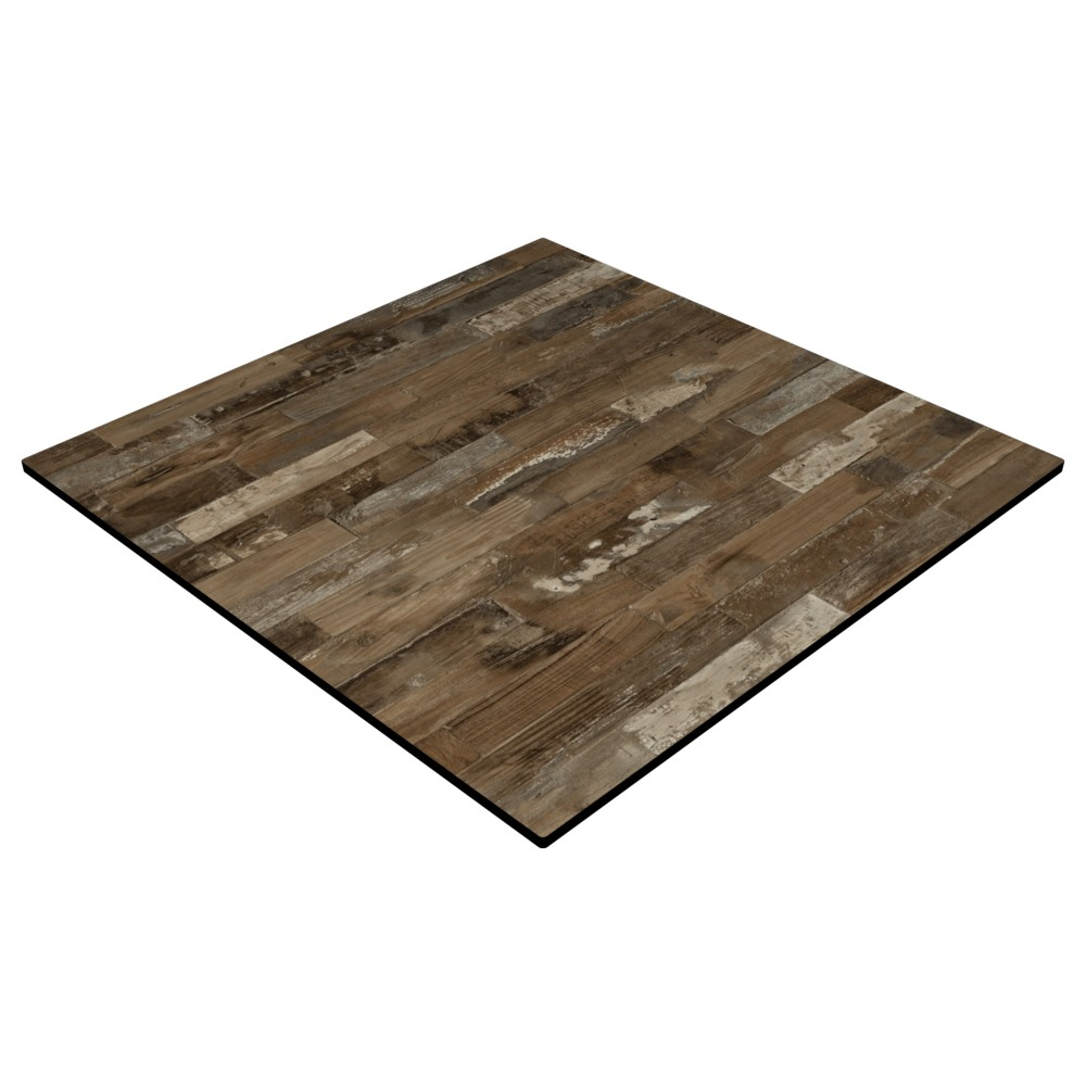 CL Rustic Block Wood - 600 x 600mm Square - 12mm