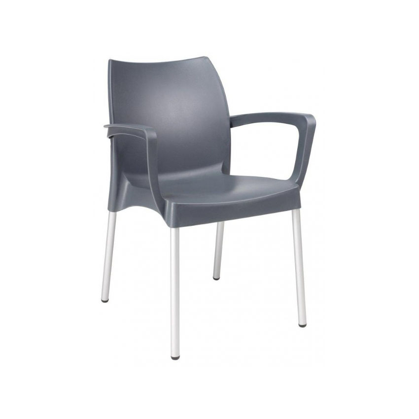 Dolce Armchair - Anthracite