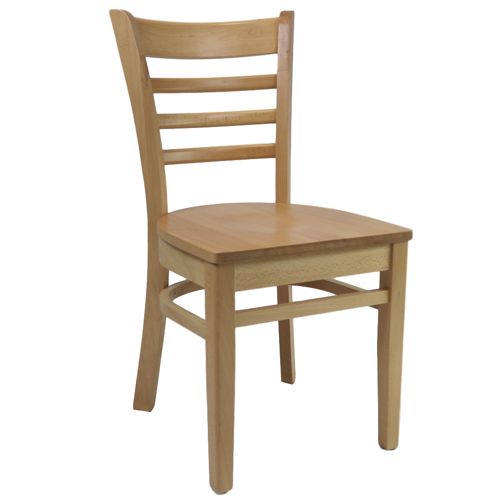 Florence Chair - Natural - Ply Seat - Made in Europe