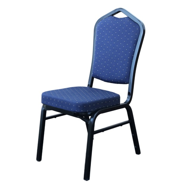 Function Chair - Blue Fabric / Black Frame