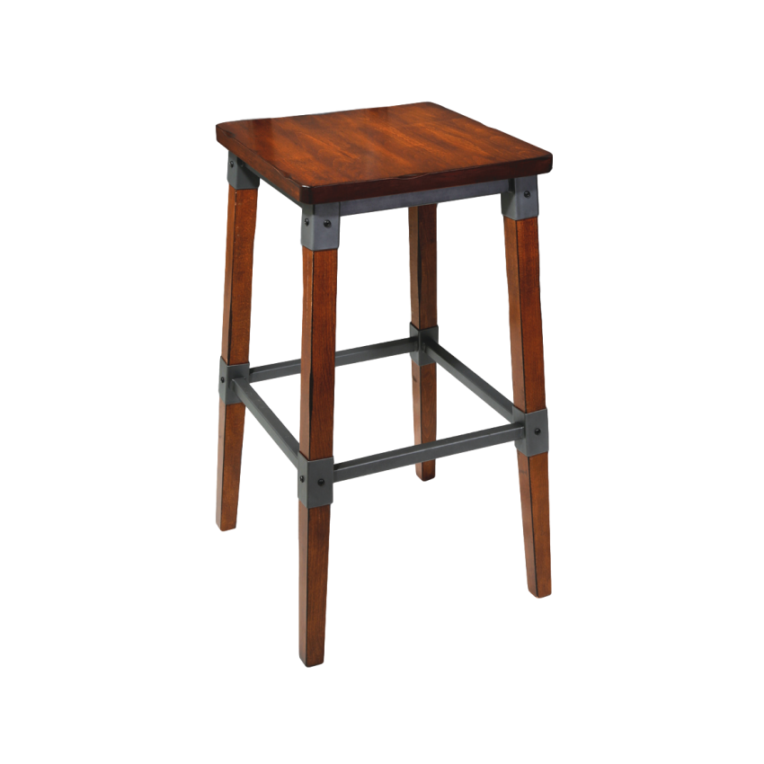 Genoa Stool 650H AW - Timber Seat AW