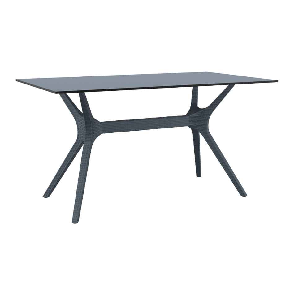 Ibiza Table 140 - Anthracite
