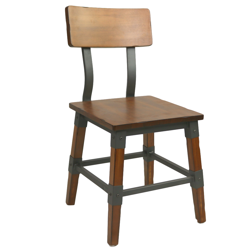 Genoa Chair 450H AW - Timber Seat/Backrest AW