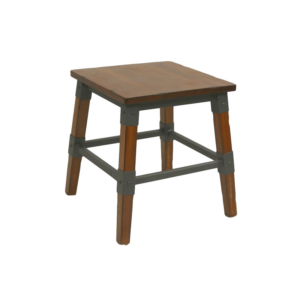 Genoa Stool 450H AW - Timber Seat AW