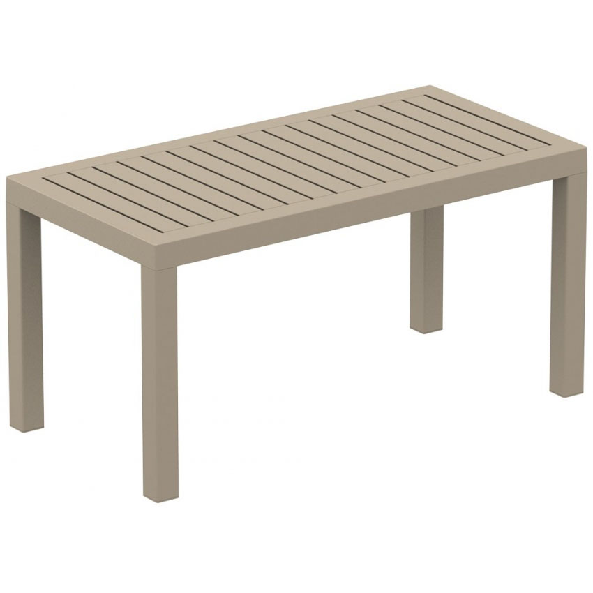 Ocean Lounge Coffee Table - Taupe