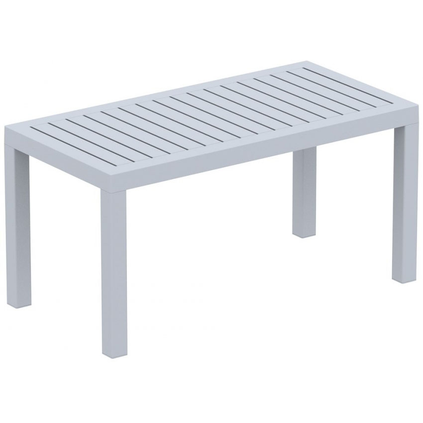 Ocean Lounge Coffee Table - Silver Grey