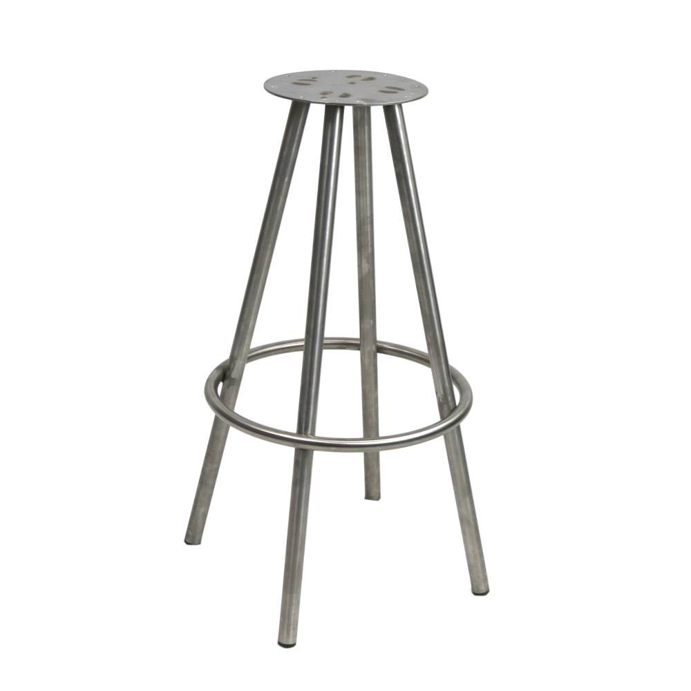 Cruza Stool (Frame Only) - Stainless Steel