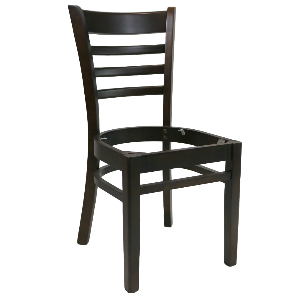 PART Florence Chair Frame - Chocolate